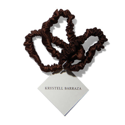 Krystell Barraza Silk Hair Ties