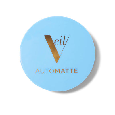 Veil Cosmetics AutoMatte Mattifying Balm & Touch Up Makeup. An invisible balm to use as a primer, or to touch up and mattify your makeup without piling on lots of product.