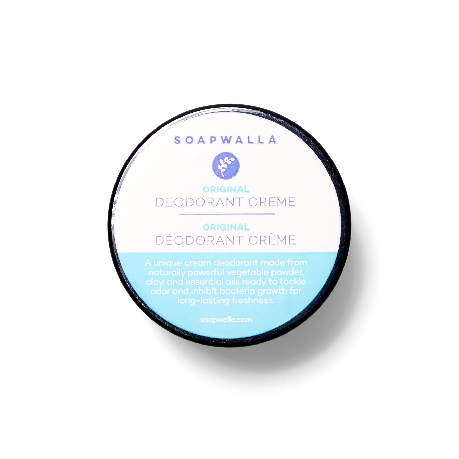 Soapwalla Deodorant Cream / Original & Sensitive Formula