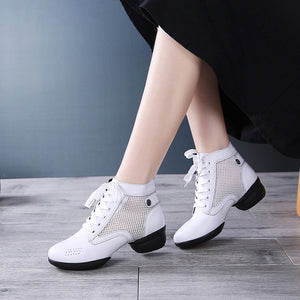 Ankle Dance Sneakers - Salsarise.com
