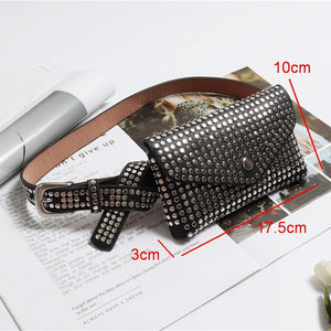 All Over Stud Fanny Pack - Salsarise.com