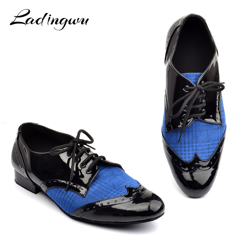 Ladingwu Low-heeled Dance Shoes - Salsarise.com