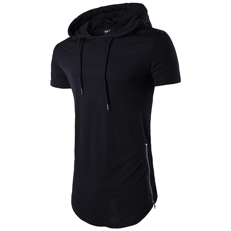 Longline Hooded Short Sleeve - Salsarise.com