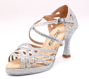All Over Silver Heels - Salsarise.com
