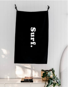 SURF - Canvas Flag by Rose St Supply (lrg)