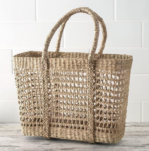 Seagrass Market Bag - MORE STOCK ARRIVING SOON