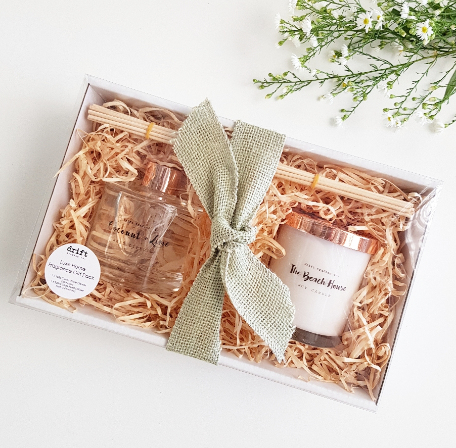 LUXE HOME FRAGRANCE GIFT PACK - Rose Gold