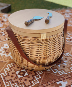 Picnic Basket (insulated with timber cheeseboard)