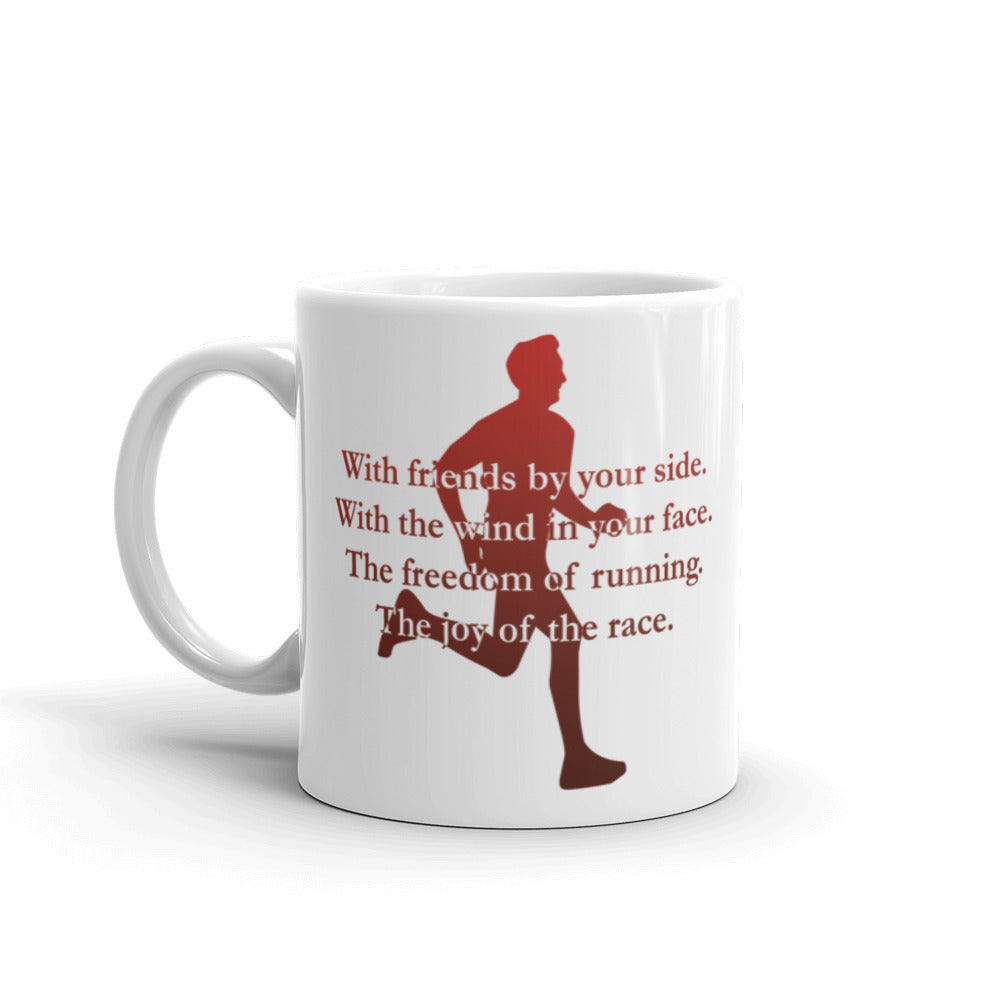 'Wind in your face' cup - gift for the runner