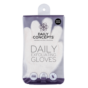 Daily Exfoliating Gloves by Daily Concepts luxury Spa goods