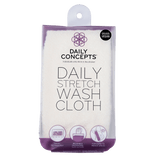 Daily Stretch Wash Cloth by Daily Concepts luxury Spa goods