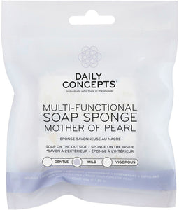 Multi Functional Soap Sponge - Mother of Pearl