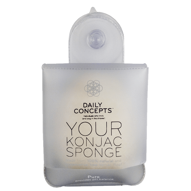 Daily Konjac Sponge-Pure Daily Concepts - Luxury Spa Goods