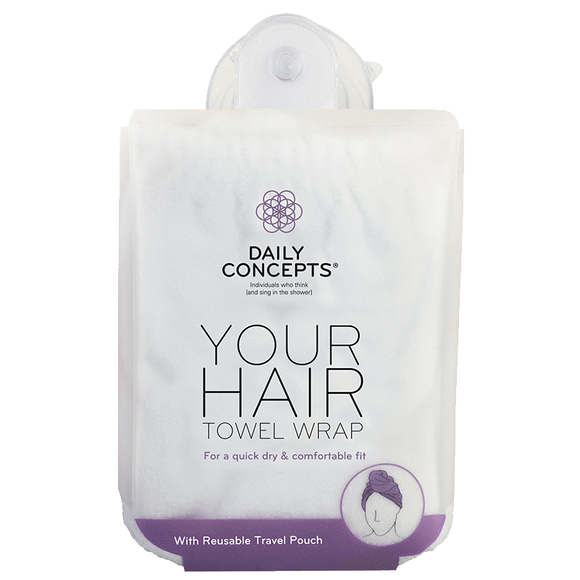 Daily Hair Towel Wrap by Daily Concepts luxury Spa goods
