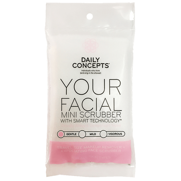 Daily Facial Mini Scrubber by Daily Concepts luxury Spa goods