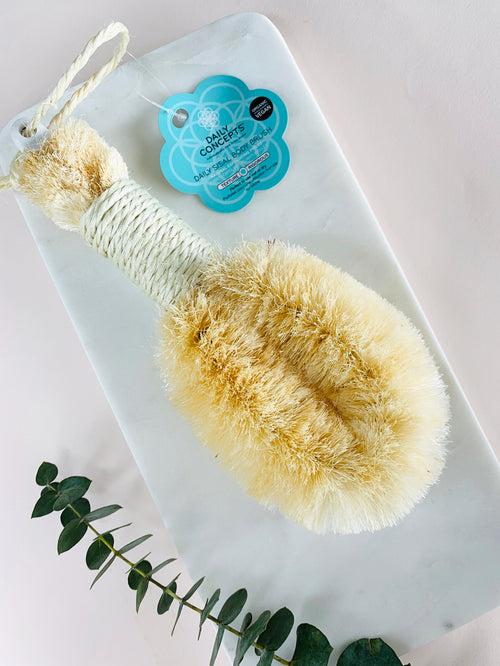 Daily Sisal Body Brush - in stock 10th December