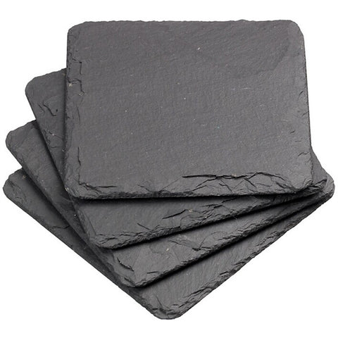 Natural Slate Drink Coasters (8 pieces)