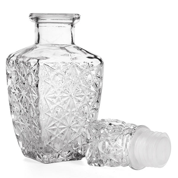 850ml Glass Whiskey Crystal Liquor Decanter Crystal