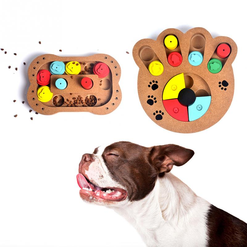 Wooden Dog Treat Puzzle