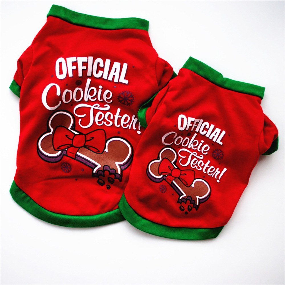 """Official Cookie Tester"" Christmas Shirt"