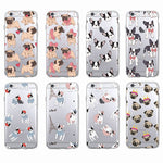 Frenchie & Pug Print IPhone Cases