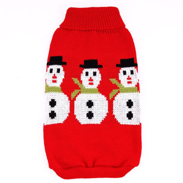 Winter Snowmen Christmas Sweater