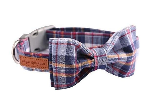 """The Charmer"" Bow Tie Collar & Leash Set"