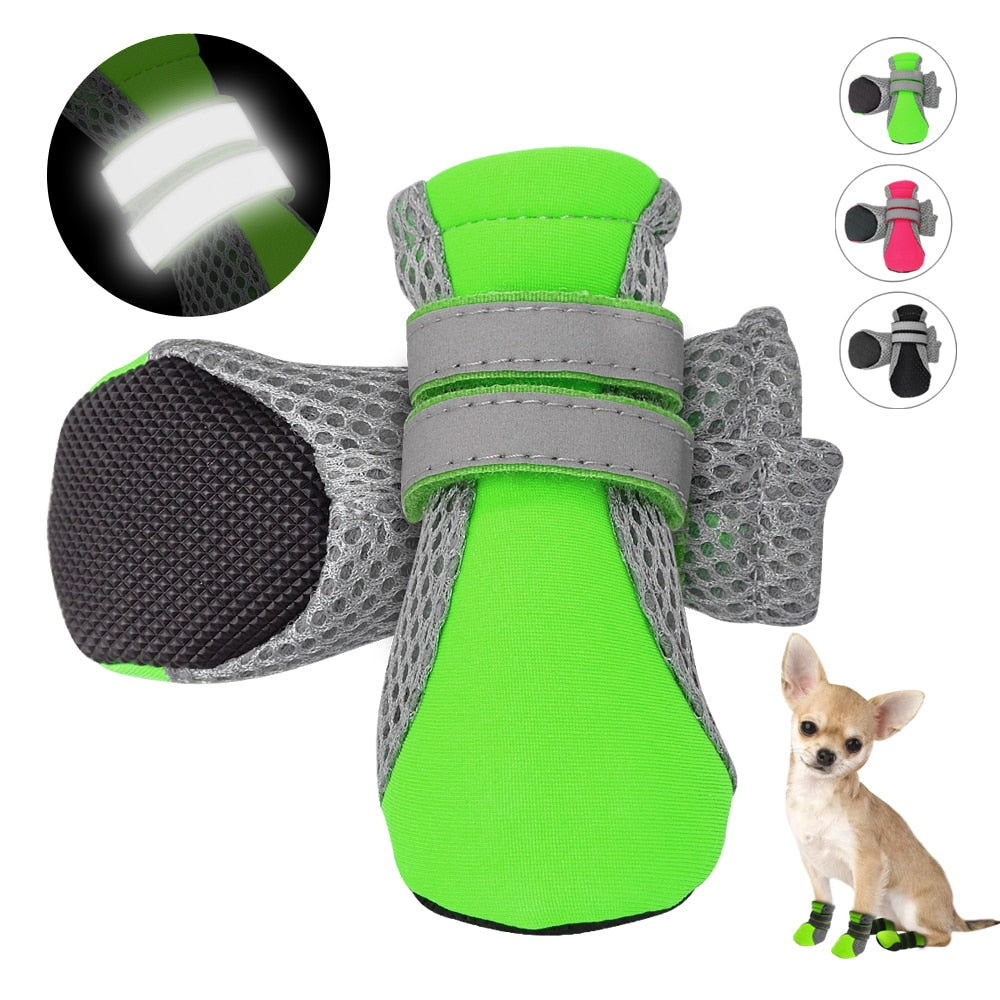 Reflective Waterproof Dog Boots