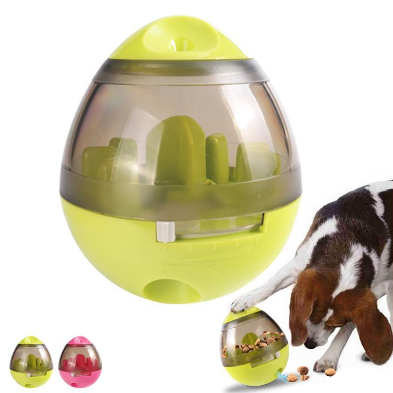Interactive Dog Treat Puzzle Egg