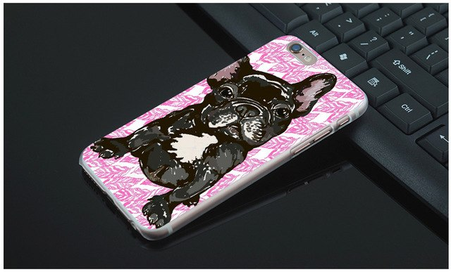 Black Frenchie Phone Case
