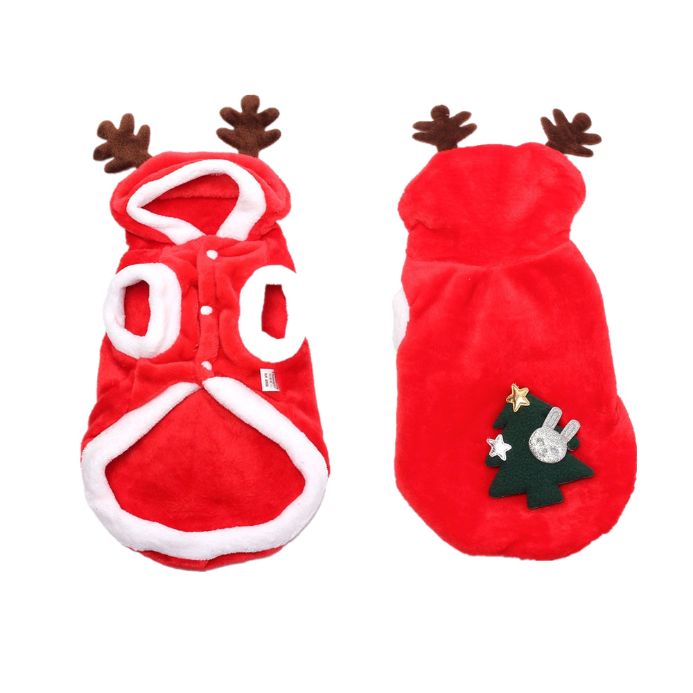 Frenchie Reindeer Outfit