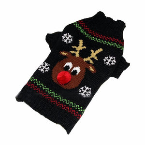 Reindeer Nose Christmas Sweater