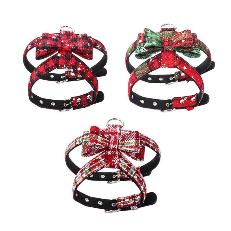 Christmas Dog Harness