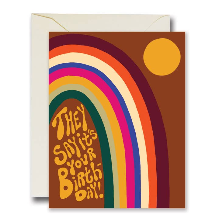 The Rainbow Vision - They Say It's Your Birthday