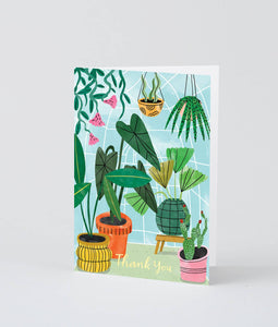 Wrap - 'Thank You Plants' Greetings Card