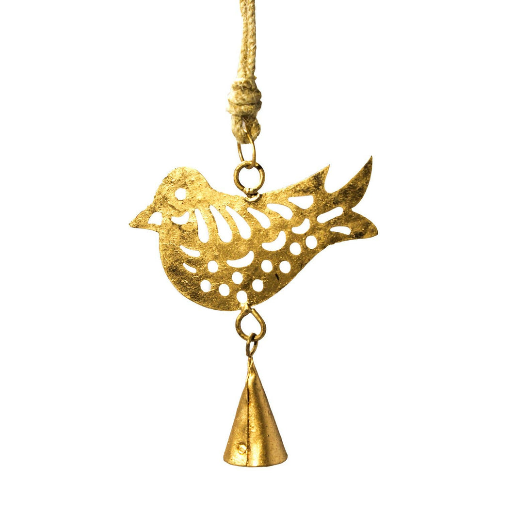 Mira Fair Trade - Mini Cutout Bird Chime