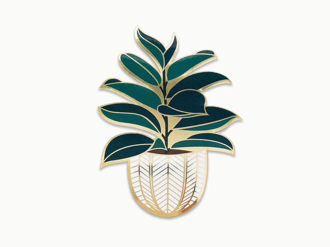 Paper Anchor Co. - Rubber Tree Sticker