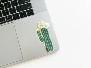 Paper Anchor Co. - Olivia Blooming Cactus Sticker