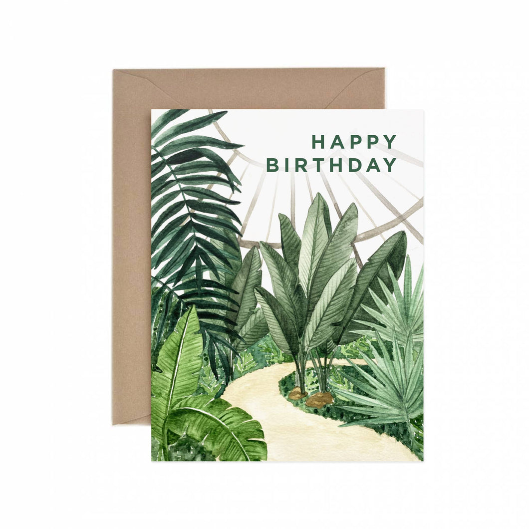 Paper Anchor Co. - Conservatory Happy Birthday Greeting Card