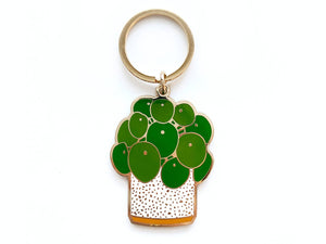 Paper Anchor Co. - Pilea Keychain