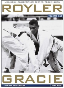 Royler Gracie Competition Tested Techniques Vol. 1 DVD - Throws and Sweeps
