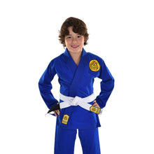 Load image into Gallery viewer, Vintage Gracie Humaita Kid's Gi - Blue
