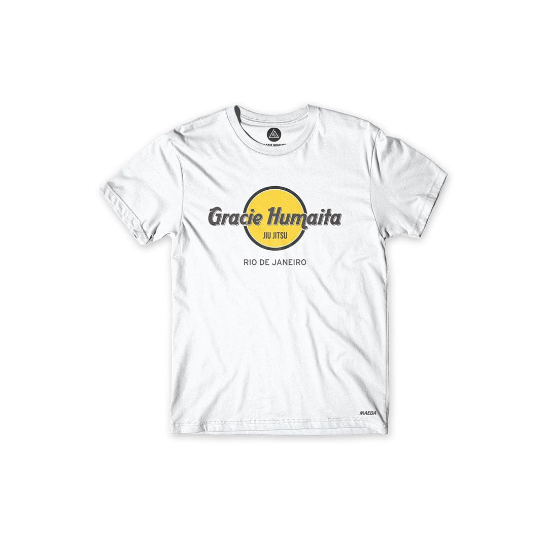 Gracie Humaita Local Gym White Tee