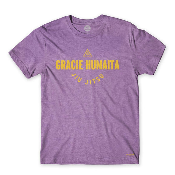 Gracie Humaita College Women Purple Tee