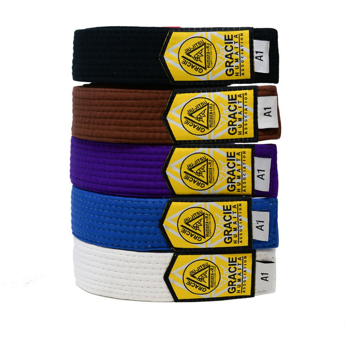 Gracie Humaita Adult Jiu Jitsu Belt All Belts