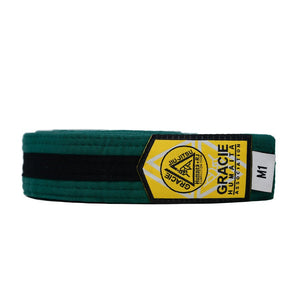 Gracie Humaita Youth Green Belt with Black Strip