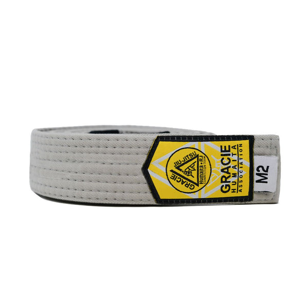 Gracie Humaita Youth Solid Grey Jiu Jitsu Belt