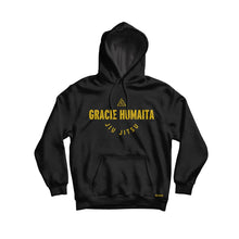 Load image into Gallery viewer, Gracie Humaita College Hoodie Black