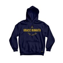 Load image into Gallery viewer, Gracie Humaita College Youth Hoodie Blue