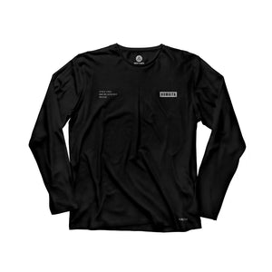 Gracie Humaita Trooper Long Sleeve Black Tee Shirt